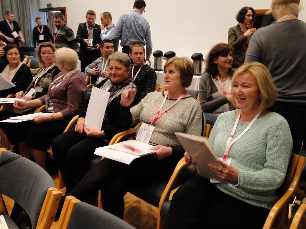 Delegatki Koła Emerytów i Rencistów